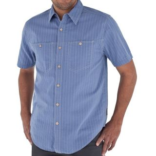 Royal Robbins Cool Mesh Stripe Shirt   Short Sleeve (For Men)   TAUPE (L )