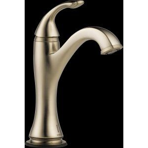 Delta Faucet 65985LF BN Charlotte Single Handle Lavatory with SmartTouchPlus