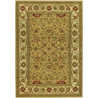 Lyndhurst Collection Majestic Beige/ Ivory Rug (9 X 12)