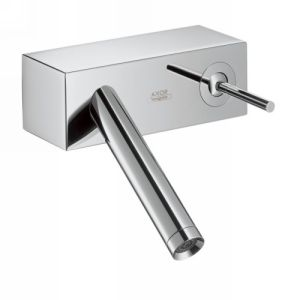 Hansgrohe 10074001 Axor Starck X Single Handle Wall Mount Lavatory Faucet