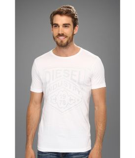 Diesel Industry R Tee Mens T Shirt (White)