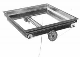 APW Wyott Drop In Tray Dispenser, For 20 x 20 in Trays, Stainless
