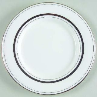 Lenox China Library Lane Platinum Saucer for Flat Cup, Fine China Dinnerware   K