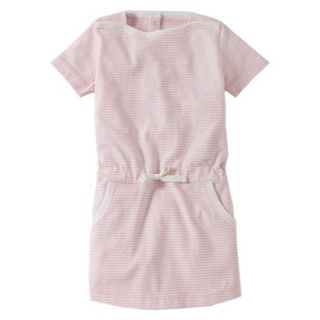 Burts Bees Baby Toddler Girls Boatneck Dress   Blush 4T