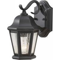 Feiss OL5900BK Martinsville 1 Light Outdoor Lantern