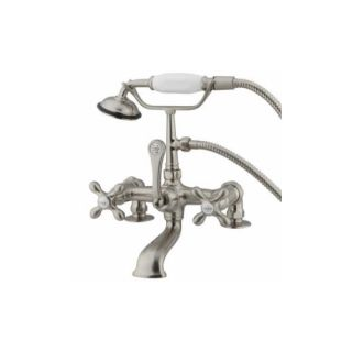 Elements of Design DT2038AX St. Louis Clawfoot Tub Filler With Hand Shower