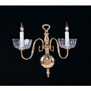Crystorama Lighting CRY 4202 PB Essex House Essex House 2 Light Polished Brass S