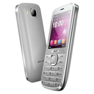 BLU Diva T272T Unlocked GSM Dual SIM Cell Phone   Silver