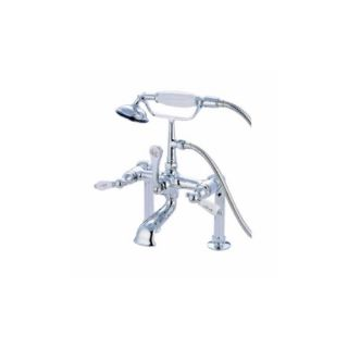 Elements of Design DT1041CL St. Louis Clawfoot Tub Filler With Hand Shower