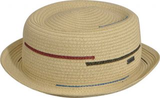 Kangol Interrupted Stripe Pork Pie   Dove Hats