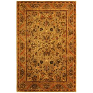 Safavieh Antiquities Majesty Sage/Gold Rug AT52A Rug Size 4 x 6