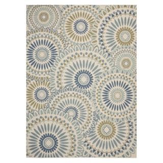 Safavieh Aegina Indoor/Outdoor Area Rug   Cream/Green (53x77)
