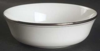 Lenox China Library Lane Platinum 6 All Purpose (Cereal) Bowl, Fine China Dinne
