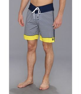 Rip Curl Mirage Brash Stripe Mens Swimwear (Yellow)