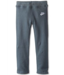Nike Kids Skinny Fleece Pant Girls Fleece (Gray)