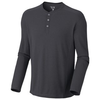 Mountain Hardwear Trekkin Thermal Henley Shirt   UPF 15  Long Sleeve (For Men)   471 COLLEGIATE NAVY (XL )