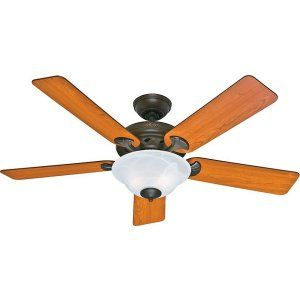 Hunter HUF 53108 The Brookline Large Room Ceiling Fan with light