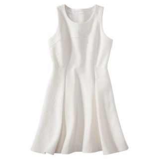 labworks Womens Ponte Sleeveless Dress   White L