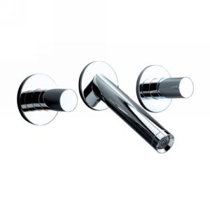 Hansgrohe 10313001 Axor Starck Two Handle Wall Mount Widespread Faucet
