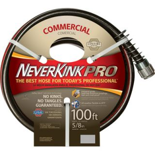 Apex Neverkink Commercial Duty Garden Hose   5/8in. x 50ft., Model# 8844 100