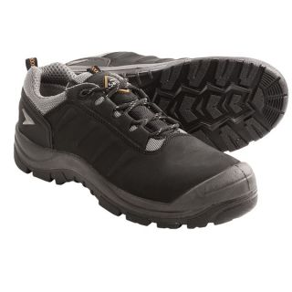 Sanita Lace Up Work Shoes (For Men and Women)   BLACK (43 )