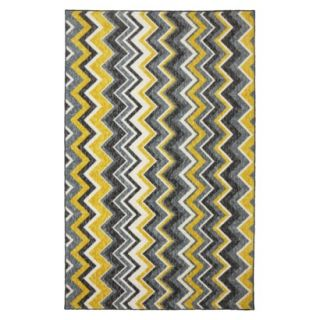 Mohawk Home Felicity Ziggidy Area Rug   Yellow (8x10)