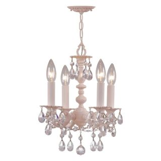 Crystorama Paris Flea Chandelier 5514 BH CL MWP Multicolor   5514 BH CL MWP