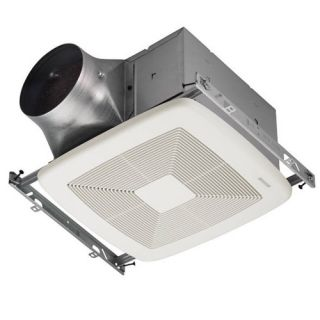 Broan ZB80 Bathroom Fan, 80 CFM Dual Speed ULTRA X2 Series amp; Energy Star Rated for 6 Duct