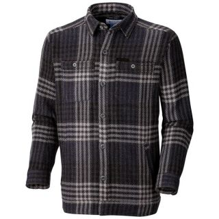 Columbia Sportswear Noble Falls II Omni Heat(R) Shirt Jacket (For Men)   COAL (L )