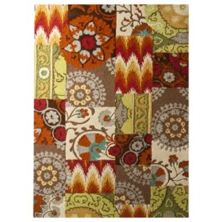 Threshold Suzani Patch Area Rug   5x7
