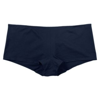 JKY By Jockey Womens Cotton Stretch Boyshort   Navy 8