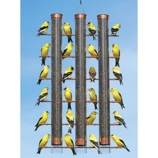 Finches Favorite 3 Tube Bird Feeder   SE324