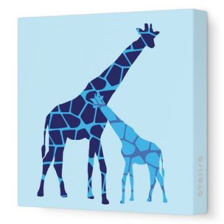 Avalisa Animal   Reticulated Giraffe Stretched Wall Art Reticulated Giraffe