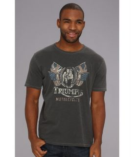 Lucky Brand Triumph Bulldog Tee Mens T Shirt (Black)