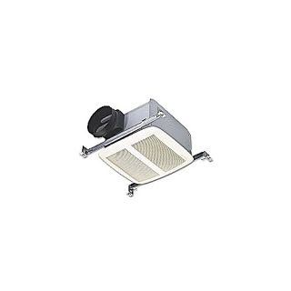 Nutone QTXEN050 Bathroom Fan, 50 CFM Ultra Silent Series, Energy Star Rated for 6 Duct