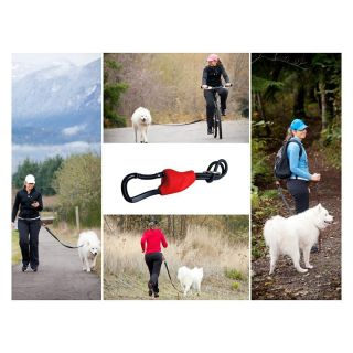 DoggyRide Buddy   Hands Free Dog Leash Connector Green   DRBD02 GR