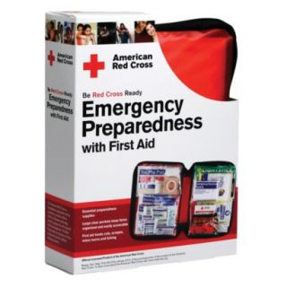 American Red Cross Emergency Preparedness 106 pc. First Aid Kit