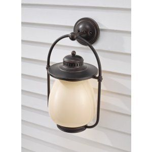 Feiss FEI OL9304GBZ Mc Coy 1   Light Outdoor Lantern