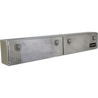 Locking Aluminum Top Mount Truck Box   90in. x 12in.