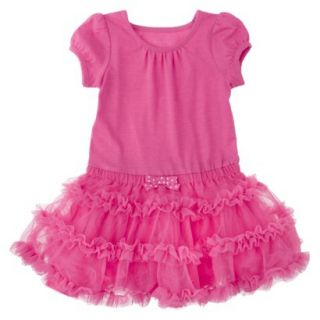 Cherokee Infant Toddler Girls Tutu Dress   Pink 18 M