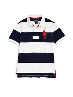 Ralph Lauren Boys Striped Rugby Polo Shirt