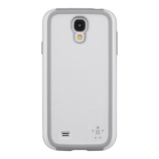 Belkin Grip Max Cell Phone Case for Samsung Galaxy S4   White (F8M697btC0)