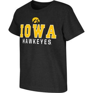 Iowa Hawkeyes Colosseum NCAA Kids Platform T Shirt