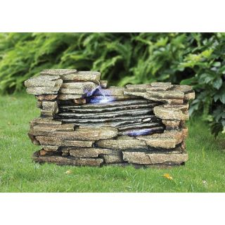 Design Toscano Chestnut Ridge Cascading Garden Fountain Multicolor   DW85012
