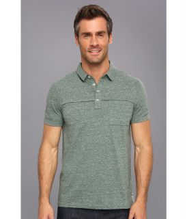 Calvin Klein Jeans S/S 1 Pocket Polo Mens Short Sleeve Pullover (Green)