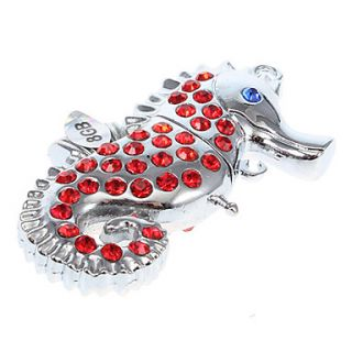 8G Metal SeaHorse Shaped USB Flash Drive