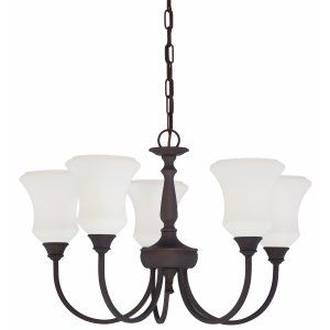 Thomas Lighting THO SL886863 Winston Chandelier Painted Bronze 5x100