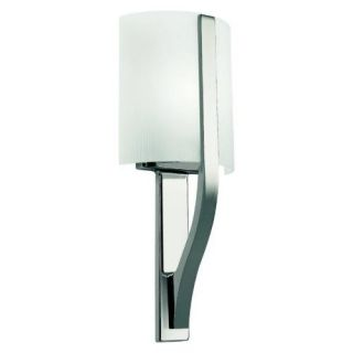 Kichler 45086PN Soft Contemporary/Casual Lifestyle Wall Sconce 1 Light Fixture Polished Nickel