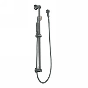 Moen 3869PW Universal Single Function Hand Shower with Slide Bar
