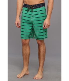 Sperry Top Sider Sailor Stripe Boardshort Mens Swimwear (Green)